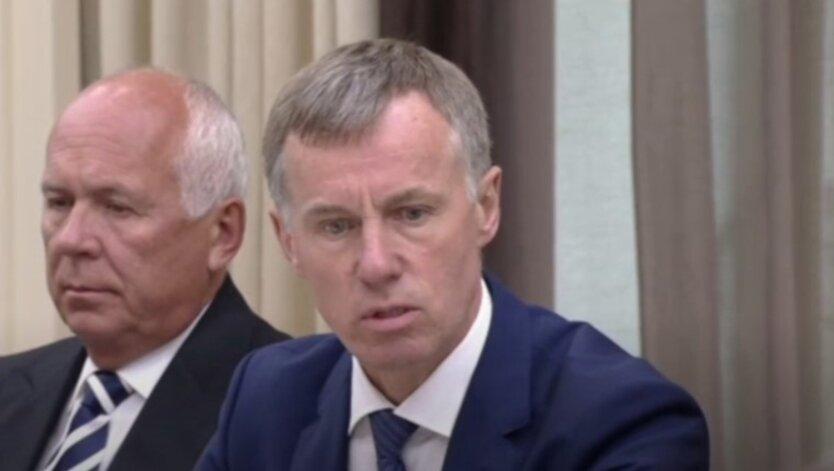 Замглавы Министерства внутренних дел Российской Федерации Александр Горовой