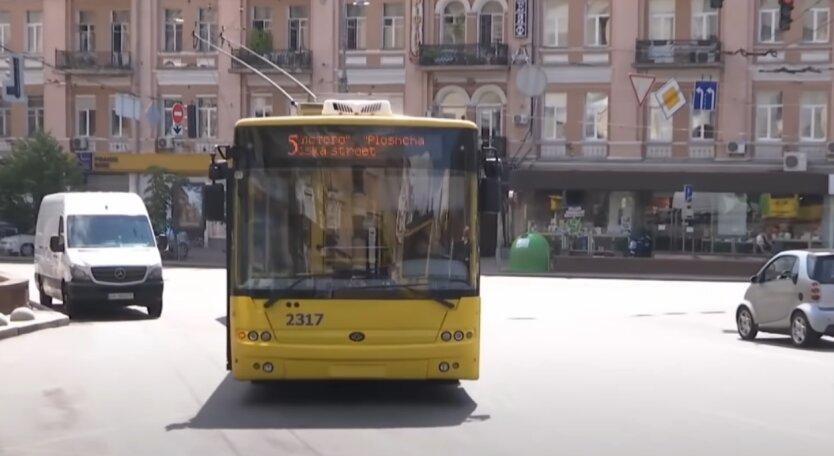 Транспорт, Киев, остановки