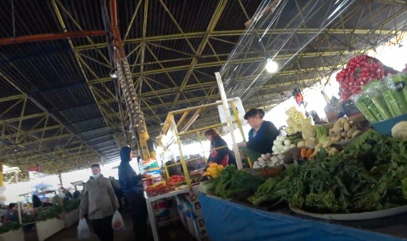 рынок привоз, цены на овощи в украине