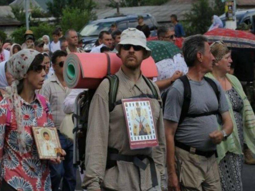 Крестный ход за мир УПЦ МП