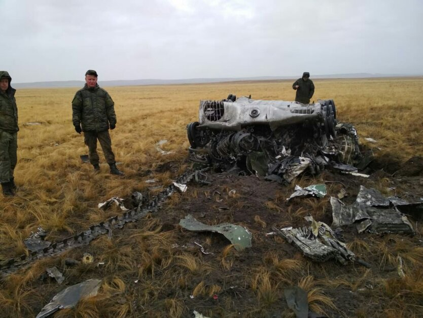 В России взорвались боевые машины ВДВ: фото