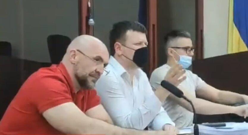 Владислав Мангер в суде