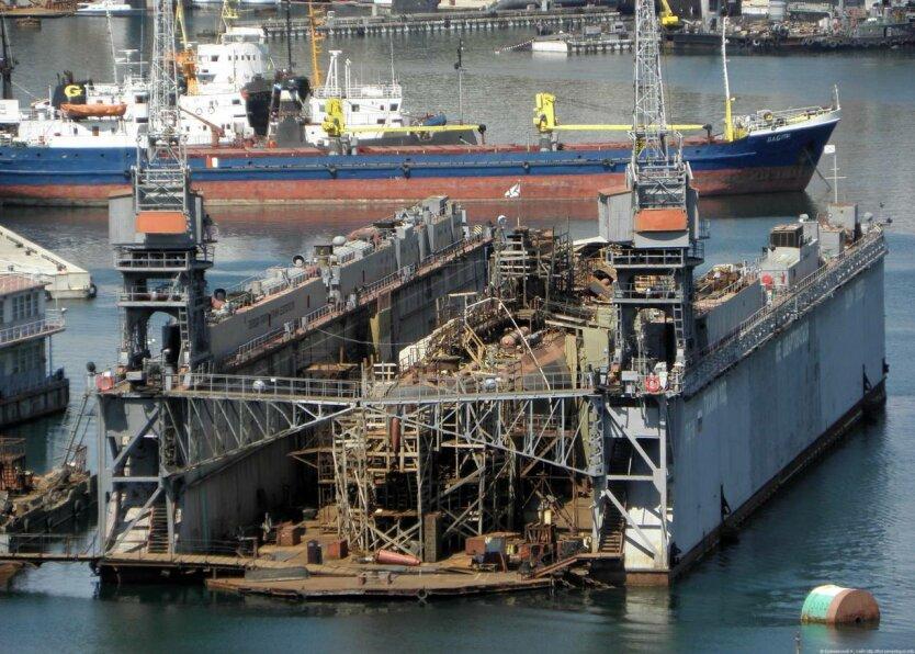 Док ПД-16 затонул
