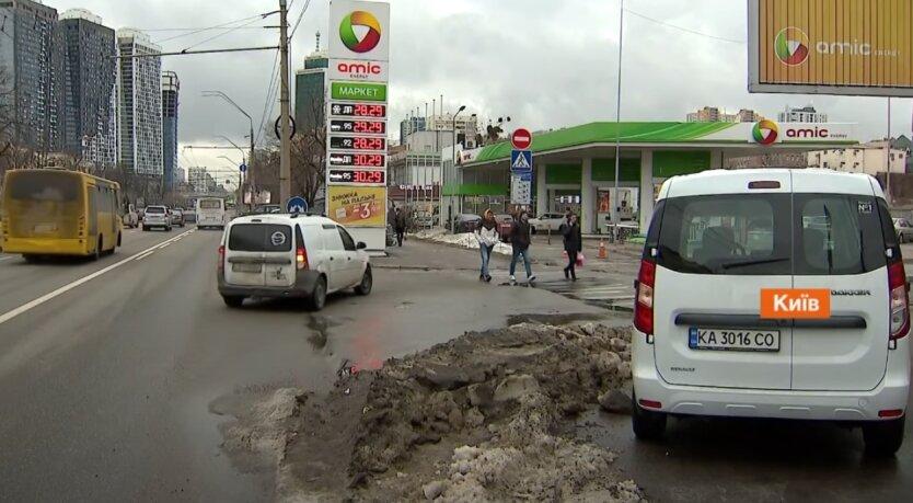 Бензин, дизель, Украина