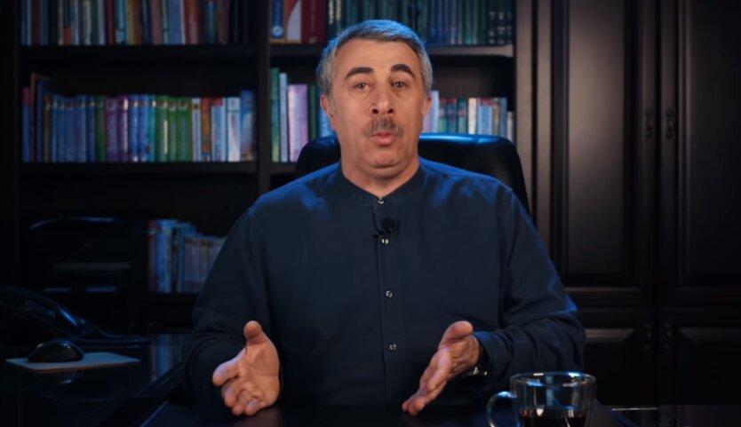Евгений Комаровский, коронавирус в Украине, распространение коронавируса