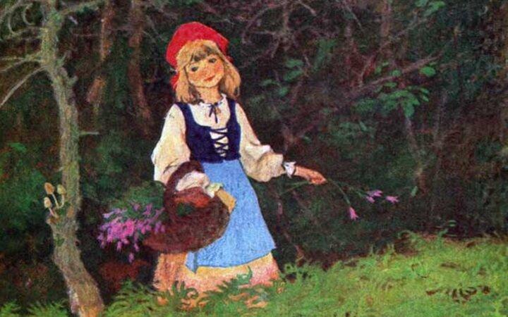 Красная-Шапочка-в-лесу