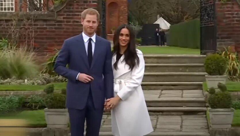 Британский принц Гарри и его супруга Меган Маркл