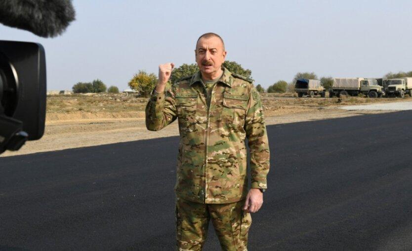 Ильхам Алиев, фото AzerTag