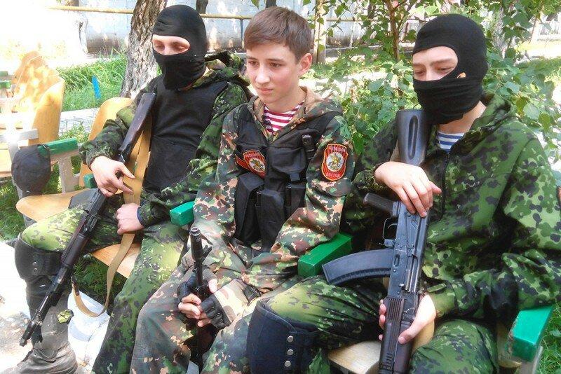 подростки в армии ДНР