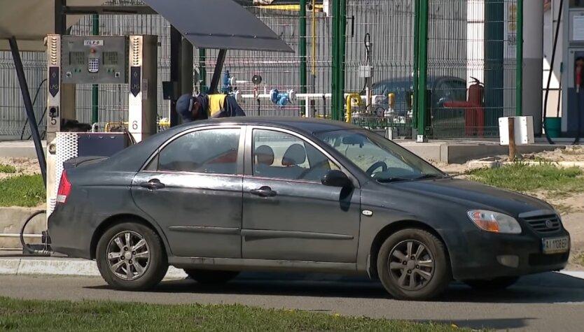 АЗС, автогаз, Украина
