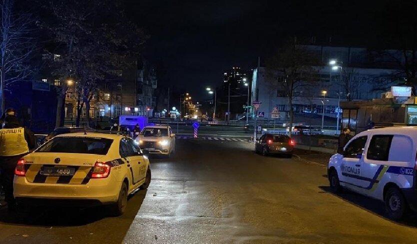 Конфликт на дороге, ранение, Киев