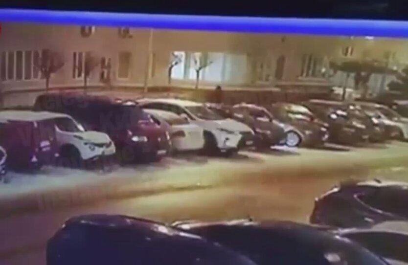 Крушение авто, Киев, халк