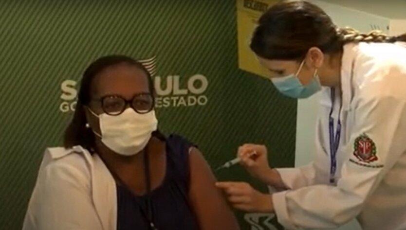 Вакцинация в Бразилии