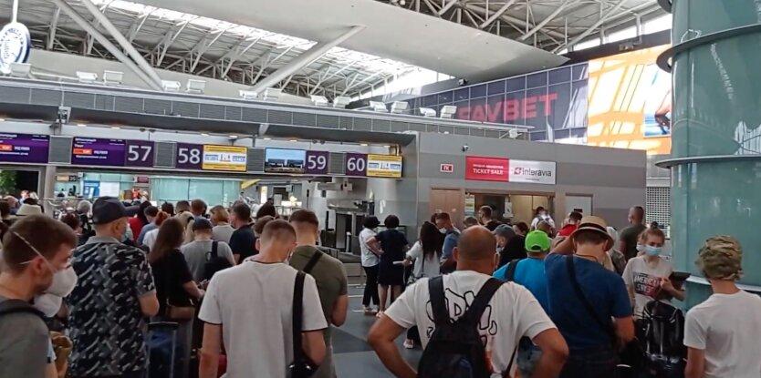 Аэропорт Борисполь, коронакризис