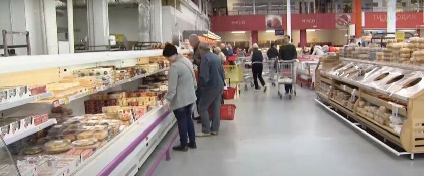 Рост цен на продукты в Украине, повышение цен на продукты питания