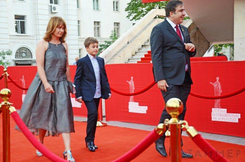 семья Саакашвили