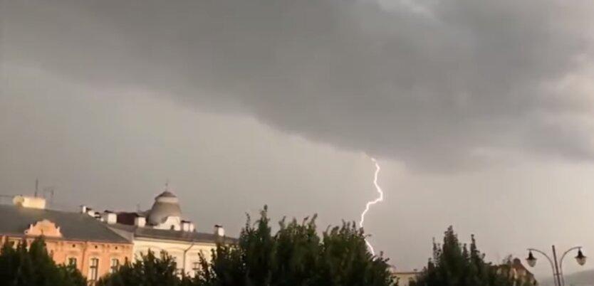 погода в Украине, погода в Киеве, погода на выходных, гроза в Украине