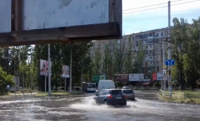 Дожди, грозы, Украина