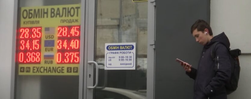 Курс валют, Украина, доллар, евро