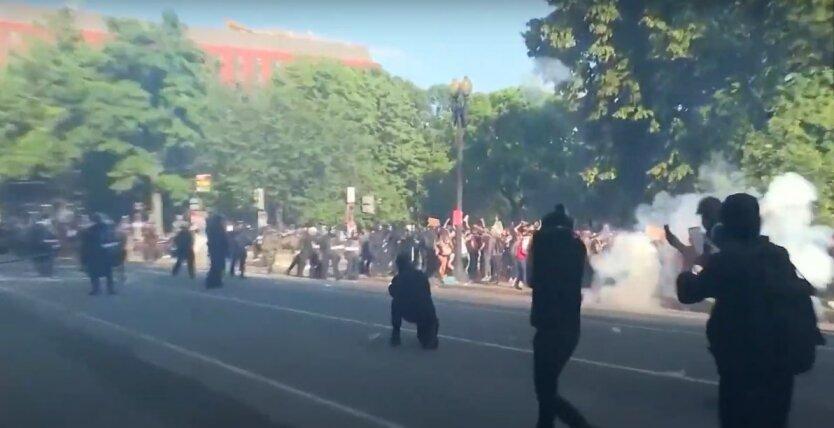 Протесты в США из-за смерти Джорджа Флойда
