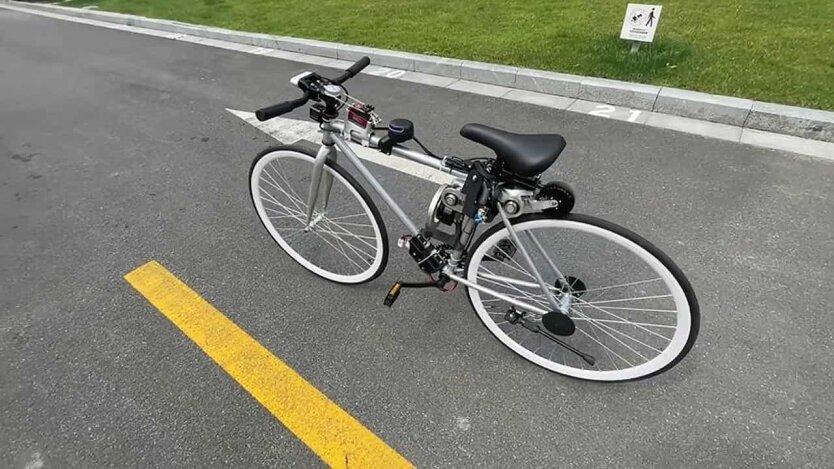 Беспилотный велосипед Huawei