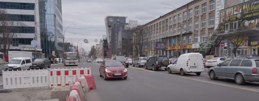 Пробки. Киев, Шулявский путепровод