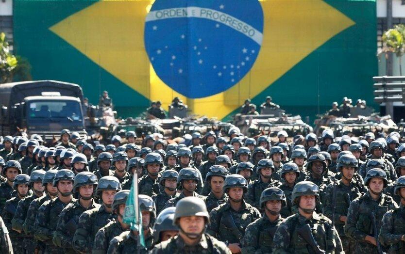 Бразилия_армия
