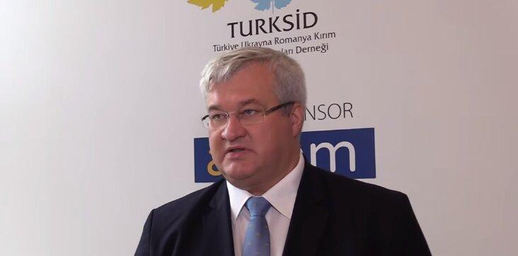 посол украины в турции андрей сибига