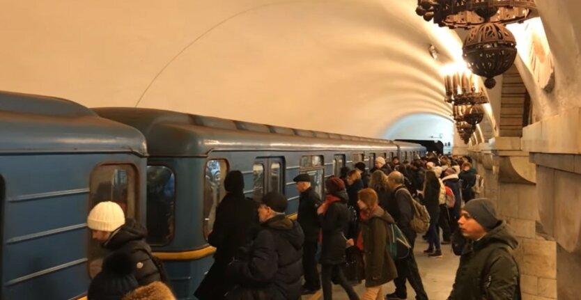 Киевский метрополитен , карантин в Украине, убытки метро