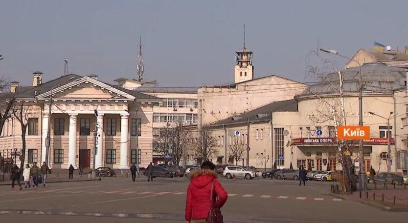 Локдаун, Киев