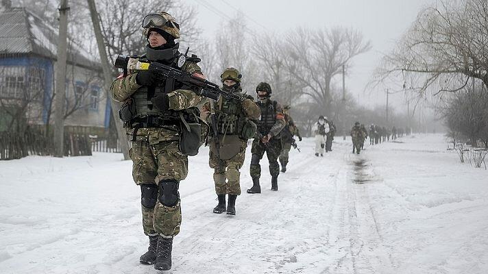 украинские военные зима