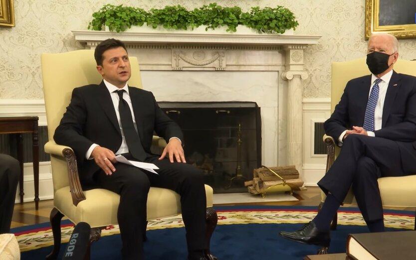 Джо Байден и Владимир Зеленский, офшторный скандал, отношения Украины и США