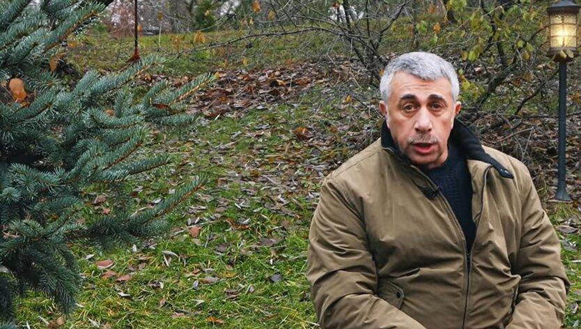 Евгений Комаровский, коронавирус, спать на животе
