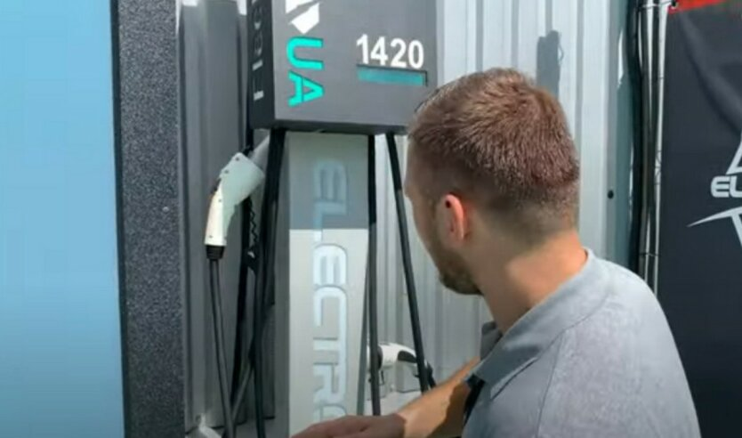 Нафтогаз откроет в Киеве зарядные станции для электрокаров