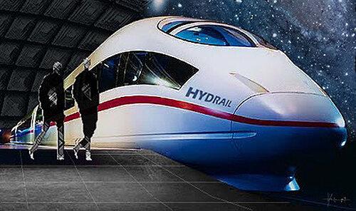 поезд водород