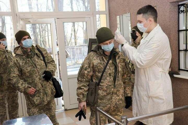 коронавирус в ВСУ, коронавирус в Украине, пандемия коронавируса