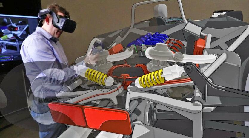 дизайнер VR