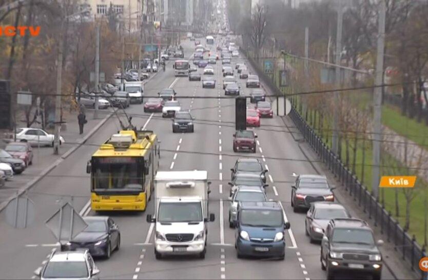 Движение в Киеве, ремонт, ограничение движения