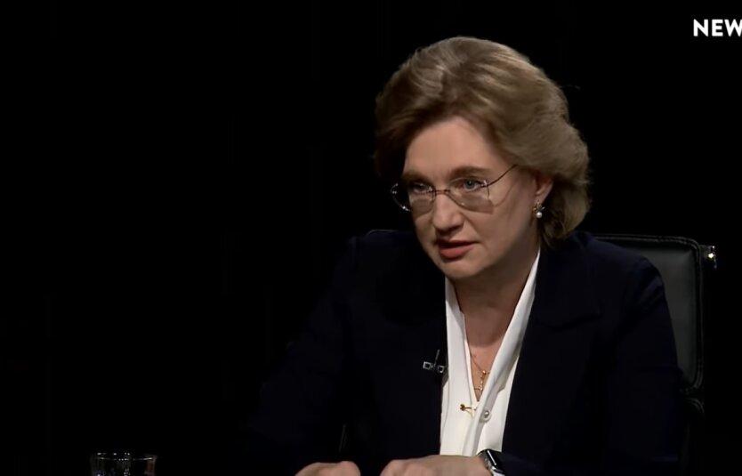 Ольга Голубовская, коронавирус в Украине, опансая особенность коронавируса