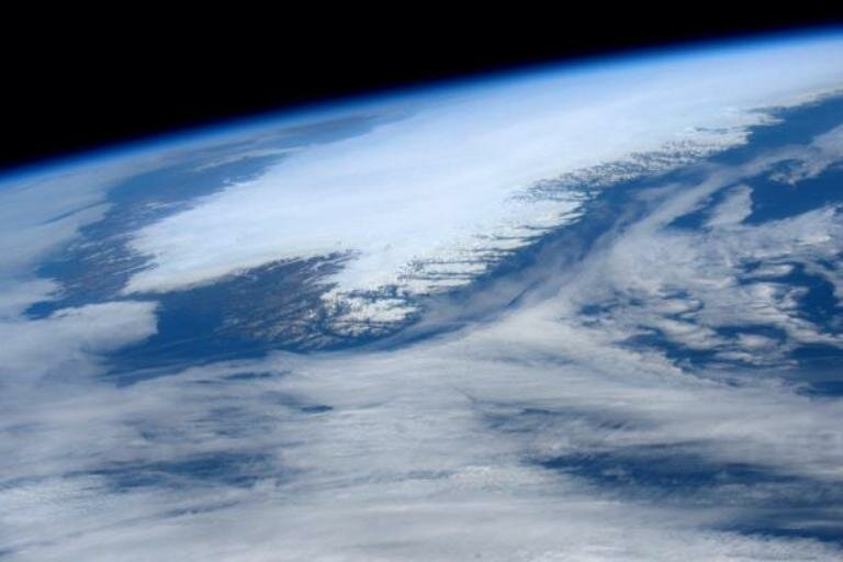 Гренландия из космоса
