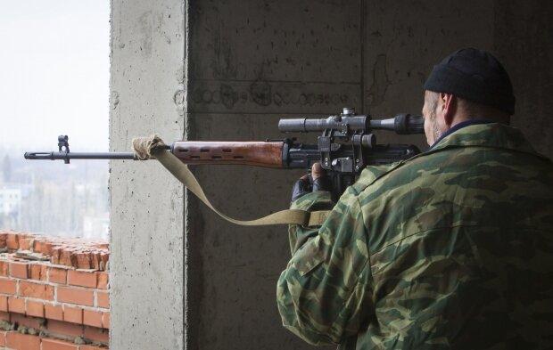 снайпер боевик засада обстрел