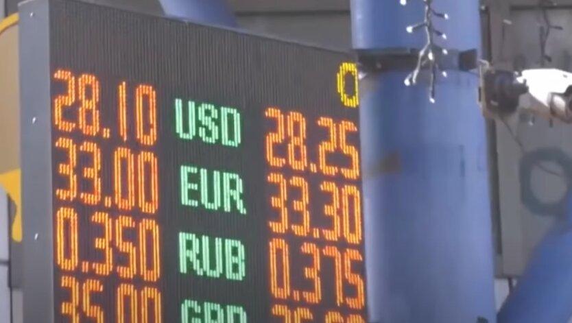 Курс валют, доллар, евро