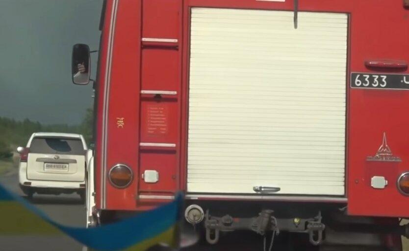 Новый пожар в Луганской области,Пожар в Северодонецке,Тушение пожара