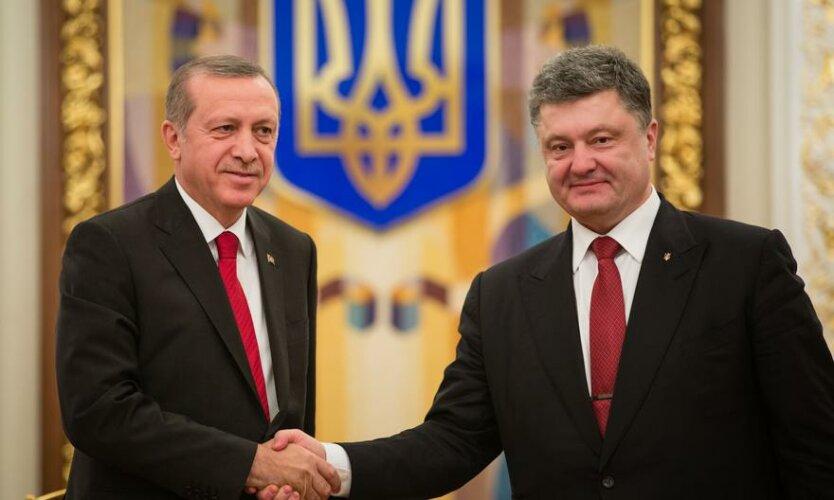 Эрдоган Порошенко