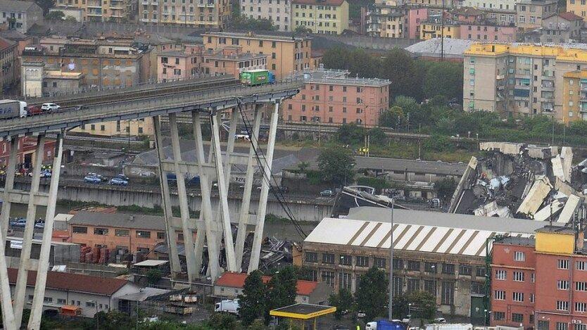 мост генуя