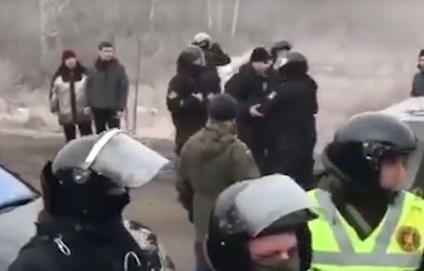 протесты на Полтавщине
