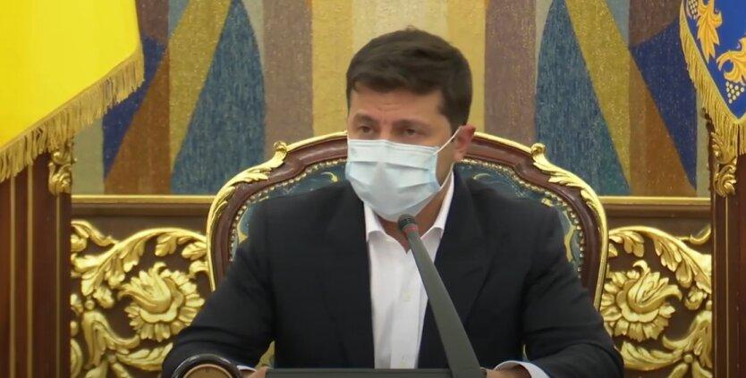 Владимир Зеленский, Конституционный суд, декларирование