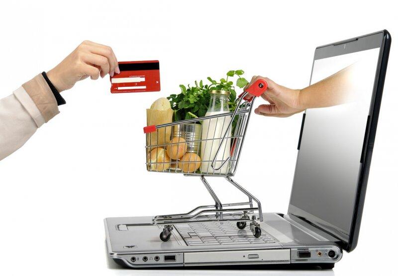 доставка продуктов, покупки через интернет