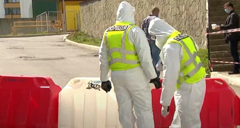 Полиция установила КПП возле охваченного коронавирусом общежития под Киевом