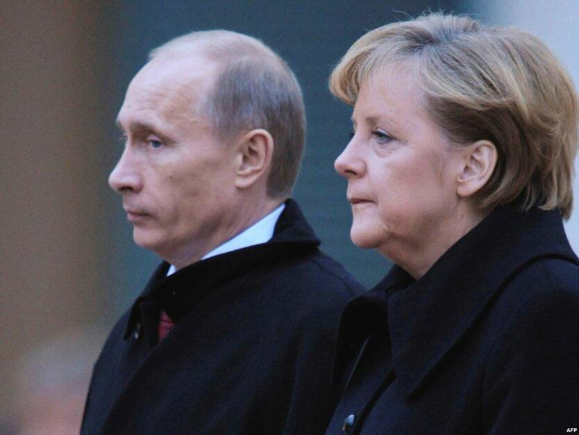 Ангела Меркель Владимир Путин2